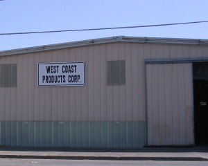 West Coast Products Original Plant