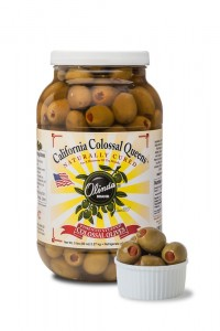 West Coast Products California Colossal Queens Olives